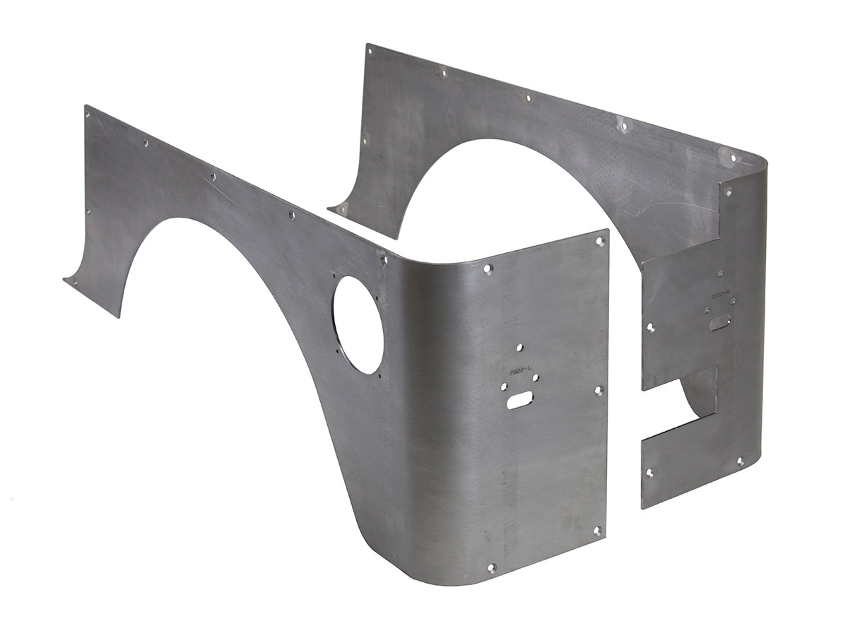 CNR-2002 Jeep TJ Corner Guards with standard wheel opening, Steel