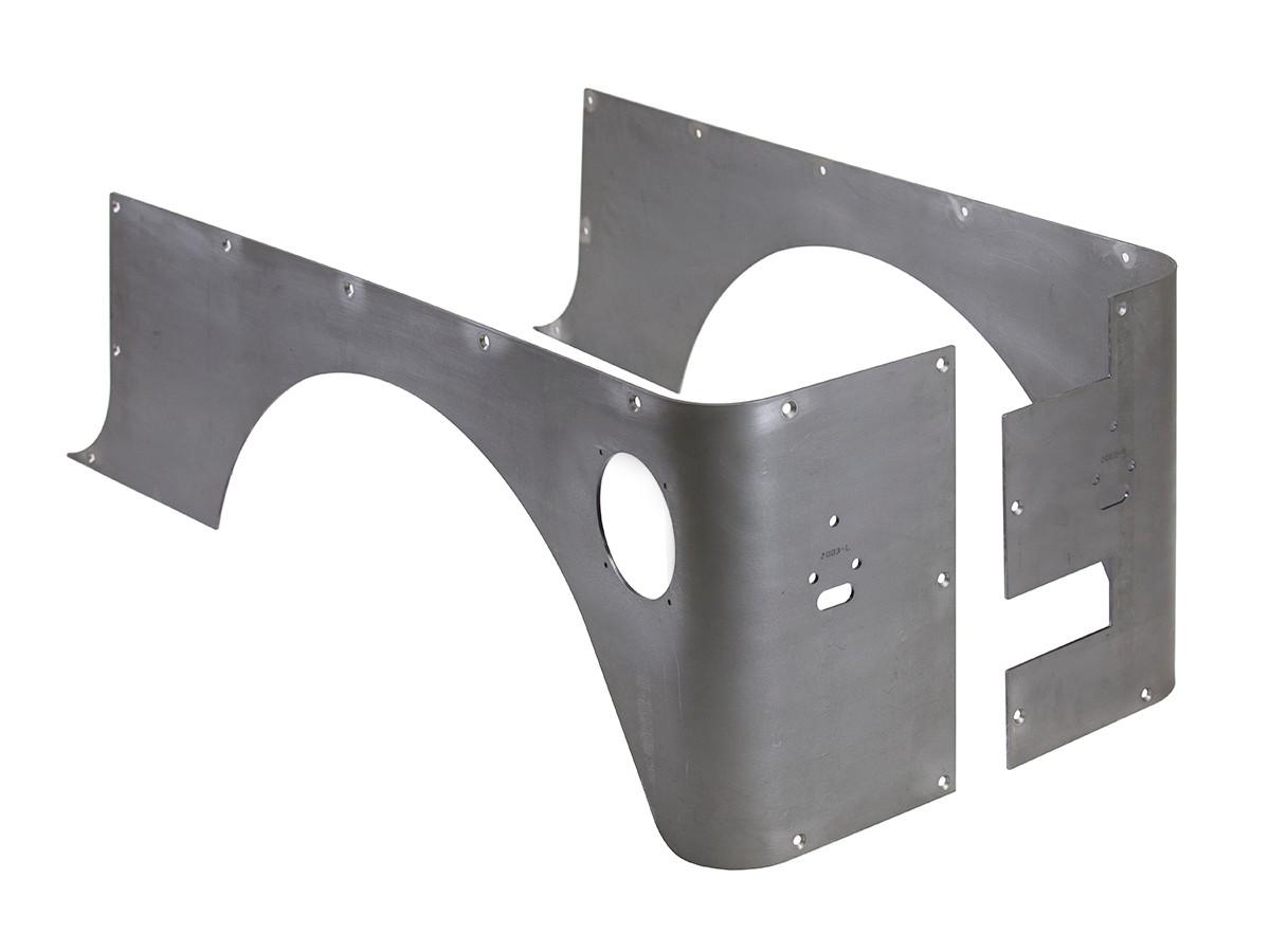 TJ Corner Guard Set (Stretch) - Steel