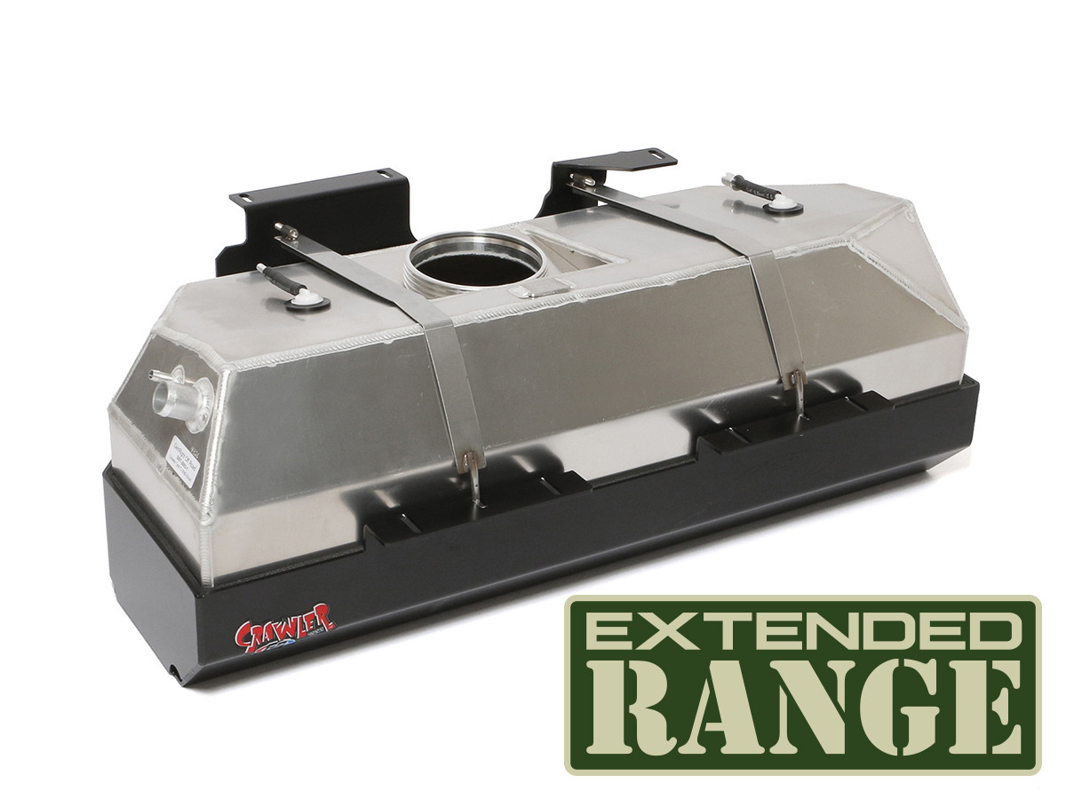 GST-2003 GenRight Jeep Wrangler TJ or LJ gas tank and skid plate