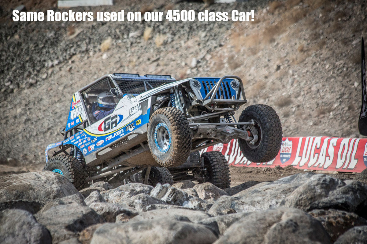 The same Rockers Jordan used on his 4500 class car