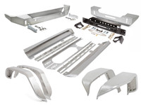 JK (4 Door) Trail Armor Package - Aluminum