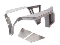TFF-4700 Jeep Wrangler YJ Tube Fenders from GenRight Off Road
