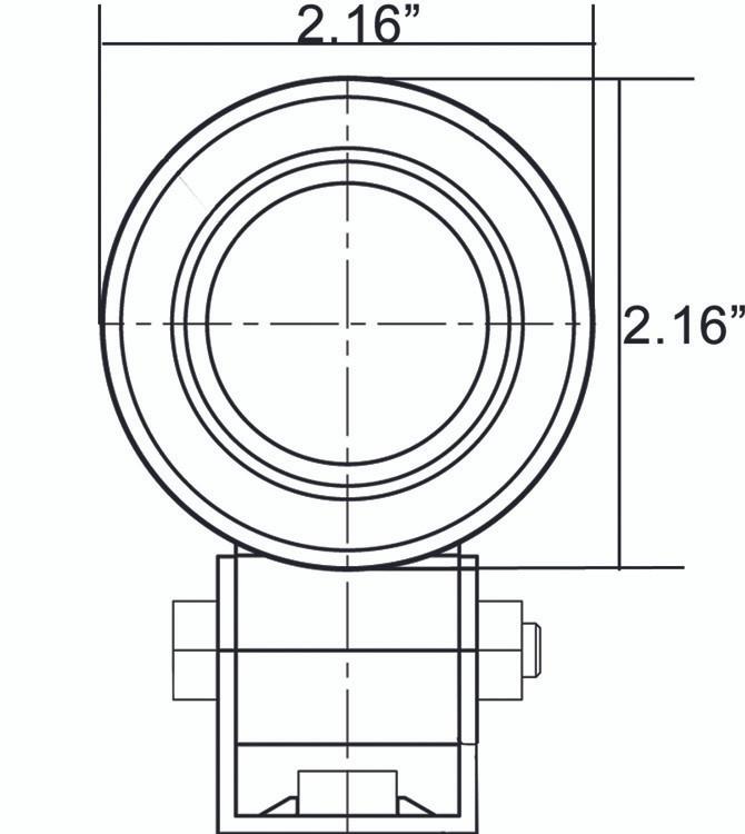XIL-SP120 dimension diagram