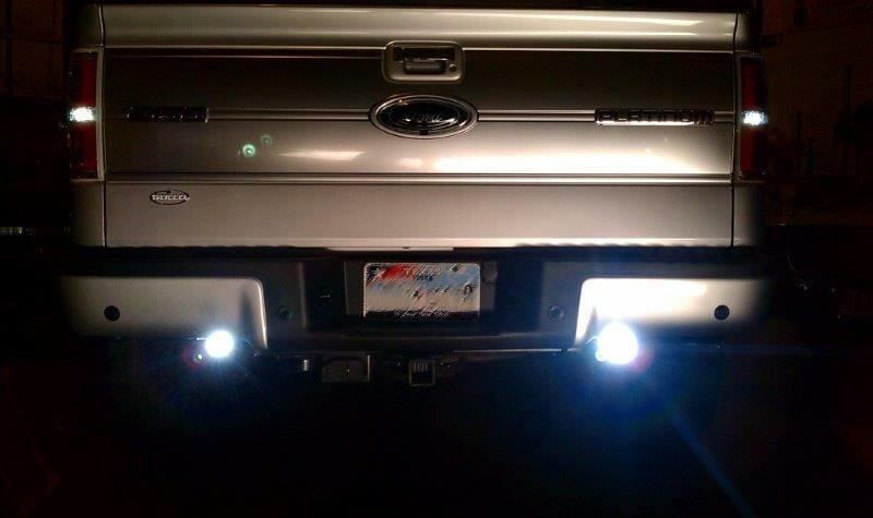 Can be used as back up lights too.