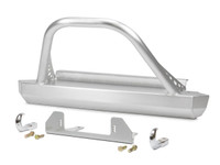 YJ Winch Guard Front Bumper,  Aluminum, FBB-4245