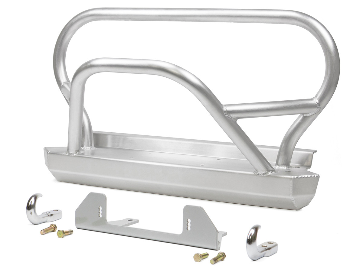 GenRight's Jeep YJ Trail/Grill Guard Front Bumper - Aluminum