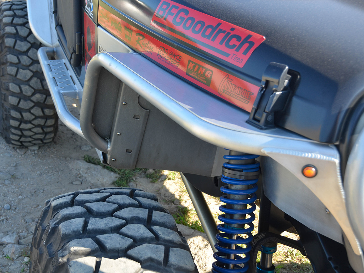"TJ/LJ 4"" Flare Front & Rear Fender Package - Aluminum"