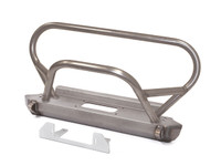 FBB-1200 steel front Bumper for the Jeep CJ with trail stinger and grille bar.