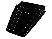 YJ Whole Hood Louver - Black