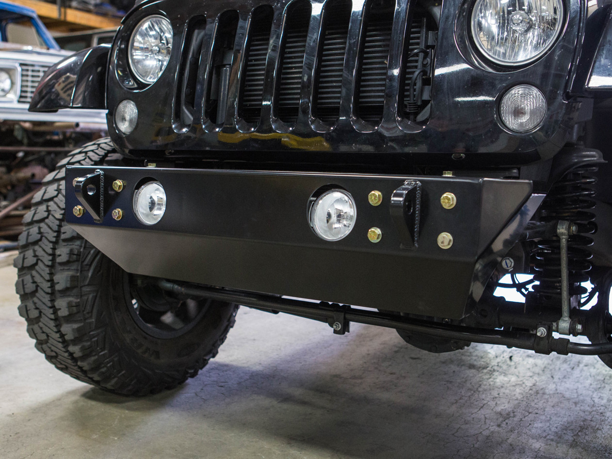Fusion Jeep JK Front+Rear Bumper Package | GenRight Jeep Parts