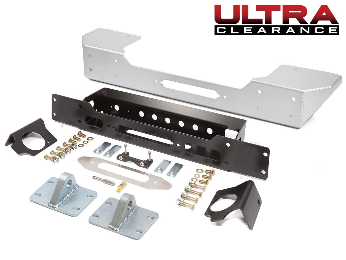 Ultra Clearance JK Stubby Front Bumper - Aluminum
