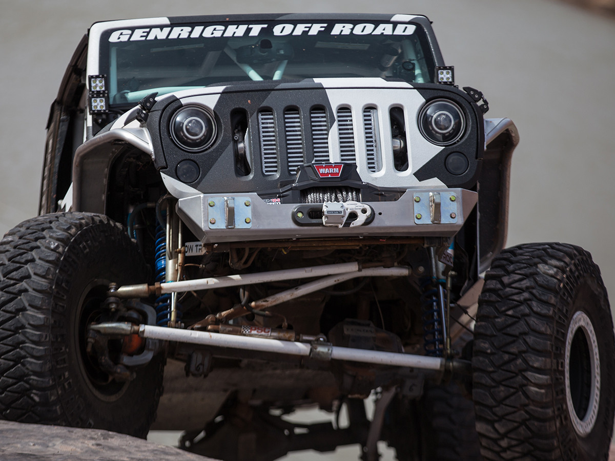 Shown on the StormTrooper Garage Jeep JKU