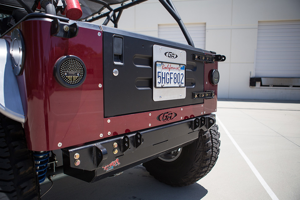 Shown here on the Maxmoto Jeep LJ