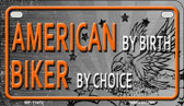 American Biker Wholesale Metal Novelty Motorcycle License Plate MP-11673