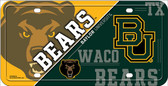 Baylor Bears Deluxe Novelty Wholesale Metal License Plate LP-5544