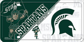 Michigan State Deluxe Novelty Wholesale Metal License Plate LP-5546