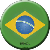 Brazil Country Wholesale Novelty Metal Circular Sign