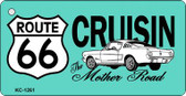 Cruisin Route 66 Novelty Wholesale Metal License Plate