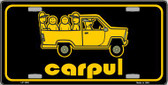 Carpul Wholesale Metal Novelty License Plate LP-1530