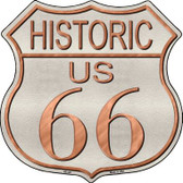 Historic Route 66 Wholesale Metal Novelty Highway Shield