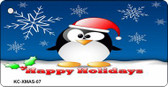 Holiday Penguin Wholesale Novelty Key Chain
