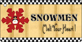 Snowflake Snowman Wholesale Novelty Key Chain
