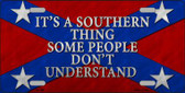 Its A Southern Thing Wholesale Metal Novelty License Plate