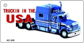 Truck In USA Wholesale Novelty Key Chain