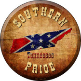 Southern Pride Tennessee Wholesale Novelty Metal Circular Sign