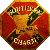Southern Charm Louisiana Wholesale Metal Novelty Stop Sign