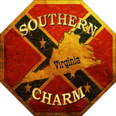 Southern Charm Virginia Wholesale Metal Novelty Stop Sign BS-370