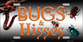 Bugs & Hisses Novelty Wholesale Metal License Plate