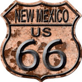 New Mexico Route 66 Rusty Wholesale Metal Novelty Highway Shield