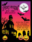 Spooky Hollow Wholesale Metal Novelty Parking Sign