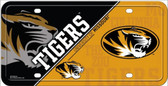 Missouri Tigers Wholesale Metal Novelty License Plate LP-5553