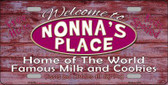 Nonnas Place Wholesale Metal Novelty License Plate