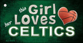This Girl Loves Her Celtics Wholesale Novelty Key Chain