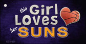 This Girl Loves Her Suns Wholesale Novelty Key Chain