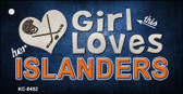 This Girl Loves Her Islanders Wholesale Novelty Key Chain