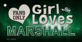 This Girl Loves Marshall Wholesale Novelty Key Chain