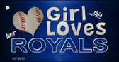 This Girl Loves Her Royals Wholesale Novelty Key Chain