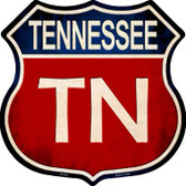 Tennessee Wholesale Metal Novelty Highway Shield
