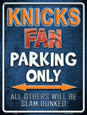 Knicks Wholesale Metal Novelty Parking Sign