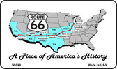 Route 66 A Piece Of History Wholesale Novelty Metal Magnet
