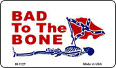 Bad To The Bone Wholesale Novelty Metal Magnet