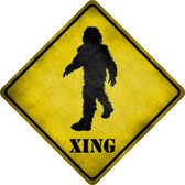 Bigfoot Xing Wholesale Novelty Metal Crossing Sign