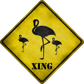 Flamingos Xing Wholesale Novelty Metal Crossing Sign