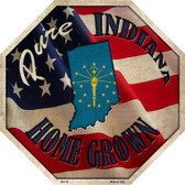 Indiana Home Grown Wholesale Metal Novelty Stop Sign