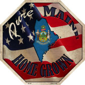 Maine Home Grown Wholesale Metal Novelty Stop Sign