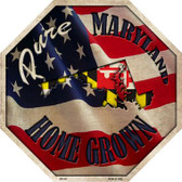 Maryland Home Grown Wholesale Metal Novelty Stop Sign